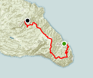 Trans-Catalina Trail Map