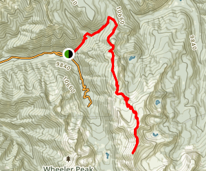 Bull of the Woods Trail Map