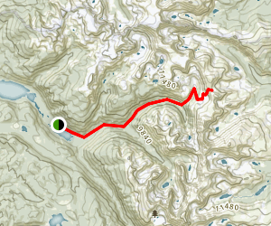 Buchanan Pass Trail Map