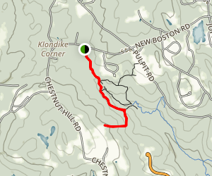 Kenard Trail to Martin Trail Map