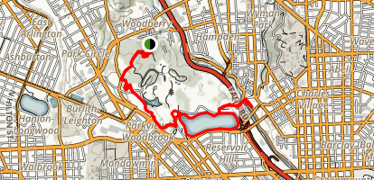 Druid Hill Park Trail Map
