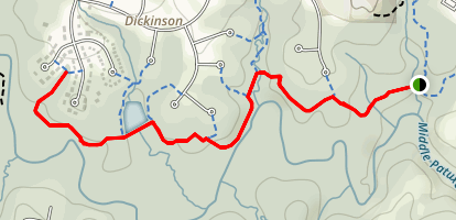 Middle Patuxent River Trail Map