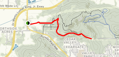 Fossil Bench Trail Map