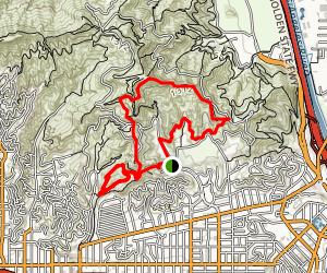Observatory Trail Extended Loop Trail Map