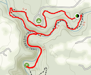 Grundy Day Loop Trail Map