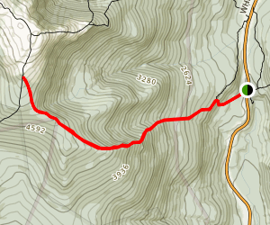 Glen Boulder Trail Map