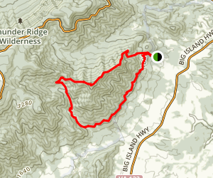 Terrapin Mountain Trail Map