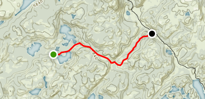Firehole Trail Map