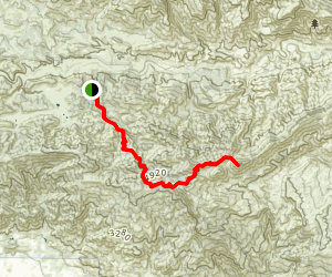 Lion Canyon Trail Map