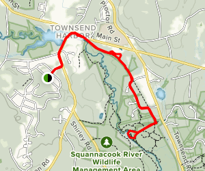 Squannacook River Map
