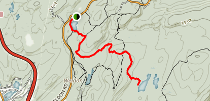 Beaver Brook Trail Map