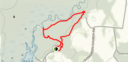 The Little River Loop Map