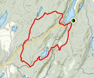 Clarence Fahnestock Memorial State Park Campground Trail Map