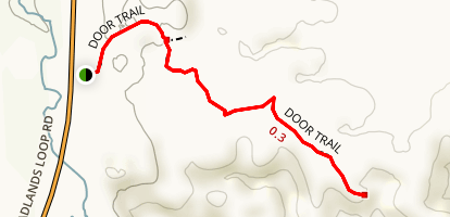 The Door Trail Map