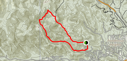 Perk Ridge Trail Map