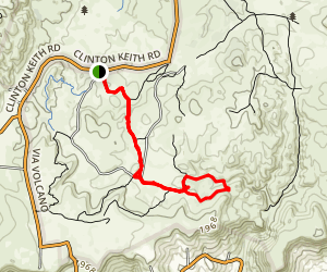 Adobe Loop Trail Map