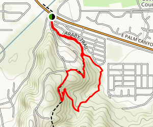 Araby Trail East Loop Map