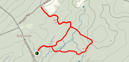 Sourland Mountain Trail Map