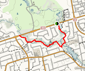 Unionville Valleylands Trail Map