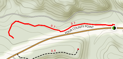 Four County Point Trail Map