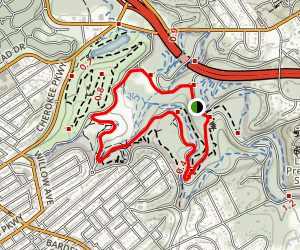 Seneca Loop Trail Map