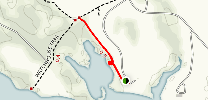 Porpoise Creek Trail Map