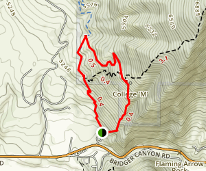 M Trail Map
