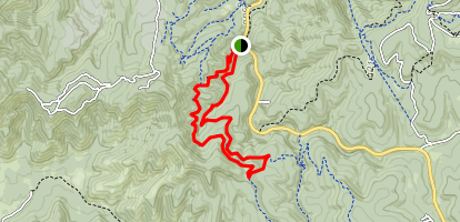 Tunnel Canyon Trail Map