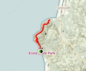 Tillamook Head National Recreation Trail Map