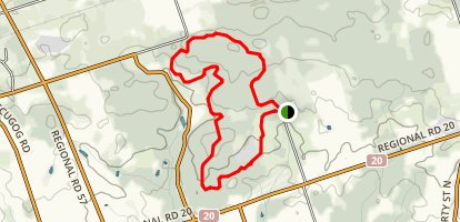 Long Sault Conservation Area Map