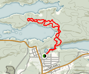 Al Quaal Trail Map