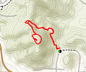 The P Trail Map