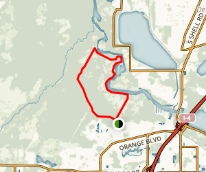 Black Bear Wilderness Area Trail Map