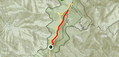 Old Mitchell Trail Map