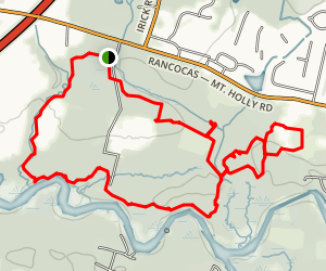 Rancocas State Park Loop Map