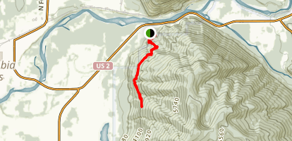 Columbia Mountain Trail Map
