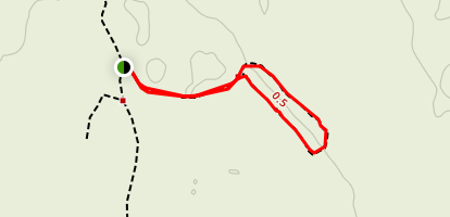 Crack-in-the-Ground Trail Map