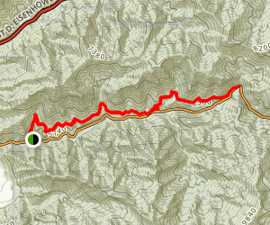 Mill Creek Pipeline Trail Map