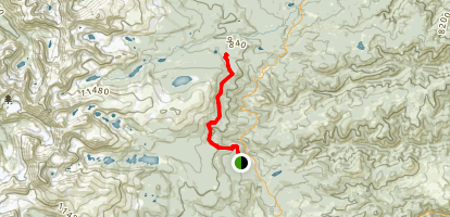 Sourdough Trail Map