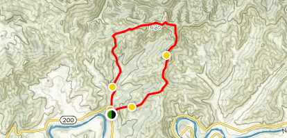 Dunning Ranch Trail Map