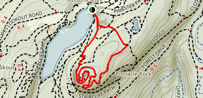 Sky Top Trail Map