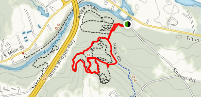 Spaulding Woods Trail Map