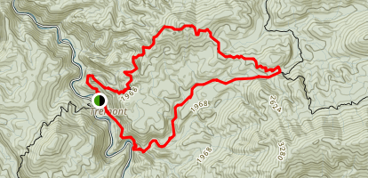 Lumber Ridge Trail Map
