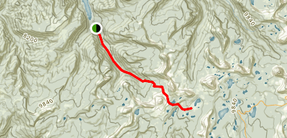 Smith Morehouse Trail Map