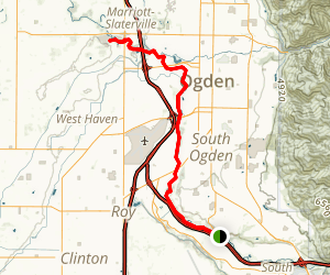Weber River Parkway Trail Map