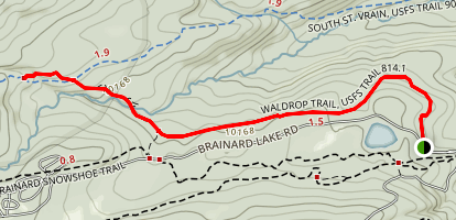 Waldrop North Trail Map