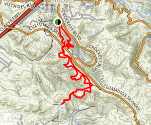 Edwards Loop Sky Trail Map