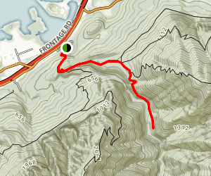 Herman Creek Trail Map