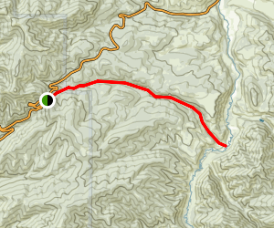 Donner Reed Party and Mormon Pioneer Route (Little Emigration Canyon) Map