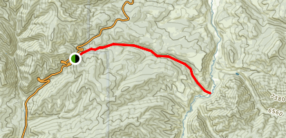 Donner Reed Party And Mormon Pioneer Route Trail Map